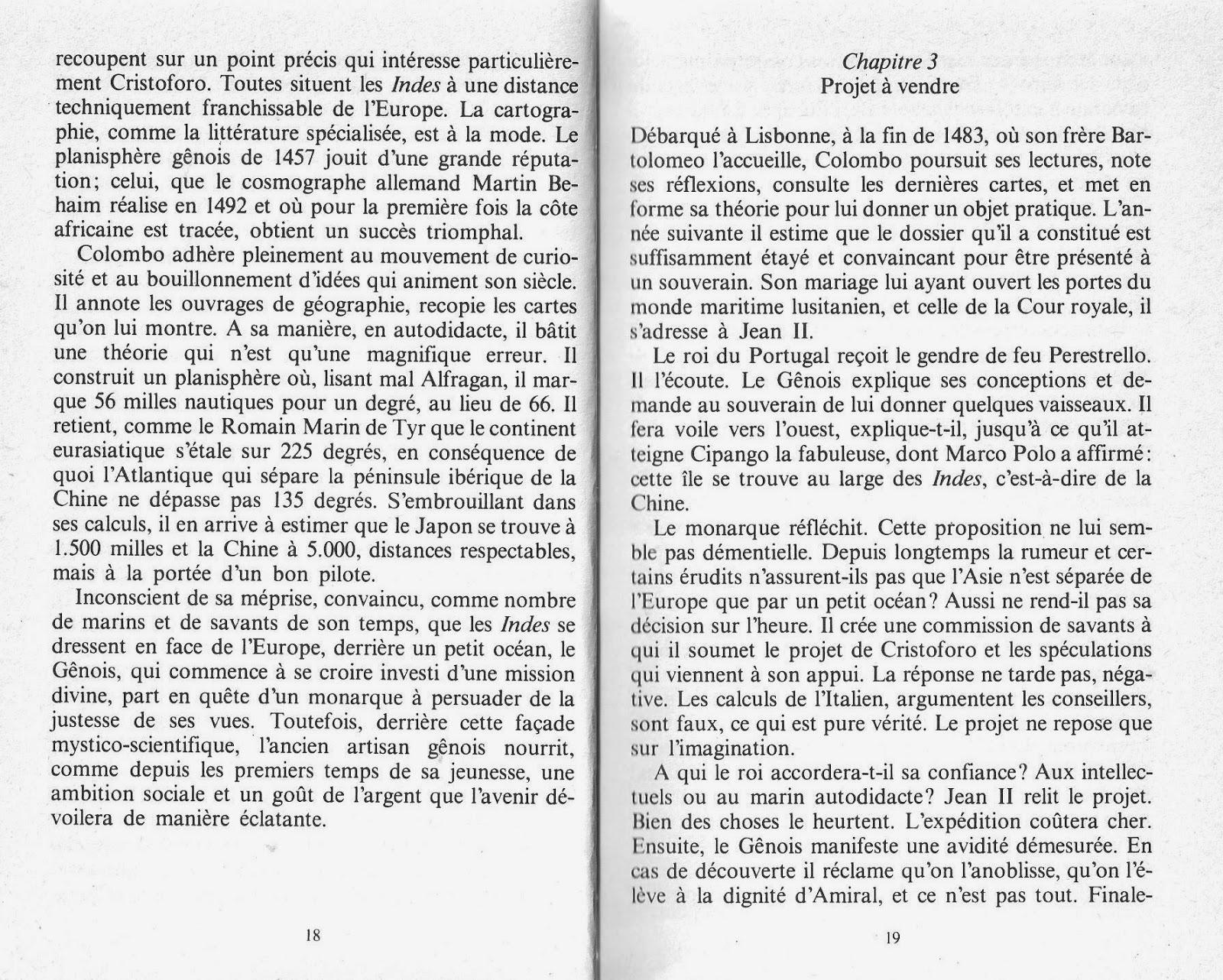 Leçons de choses: Christophe Colomb le découvreur (Pierre Pluchon)