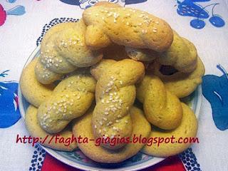 Κουλουράκια λεμονιού - από «Τα φαγητά της γιαγιάς»