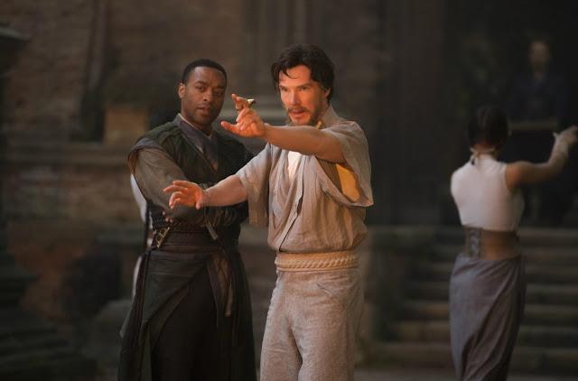 Chiwetel Ejiofor Benedict Cumberbatch