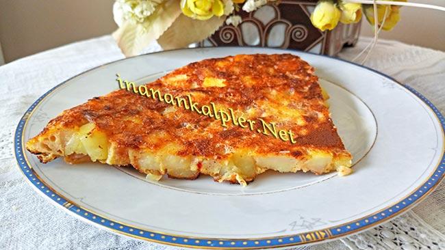 Kahvaltılık Küp Patatesli Omlet - inanankalpler.net