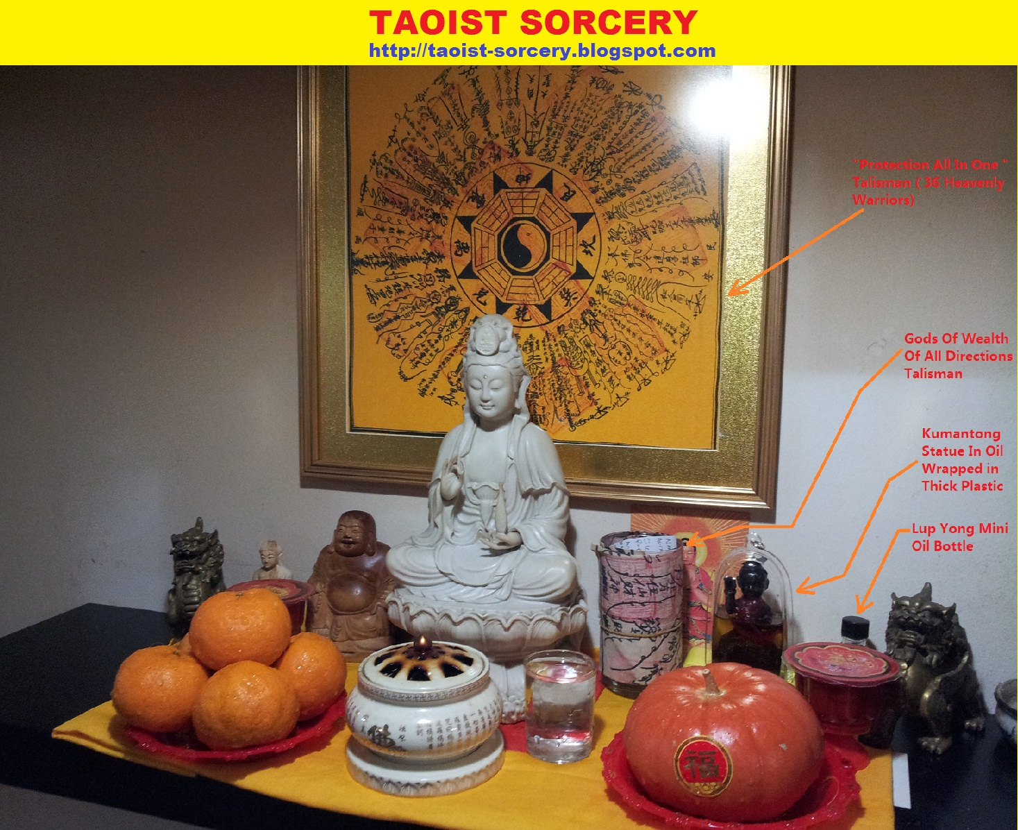 TAOIST SORCERY: Activate Your Taoist Altar with