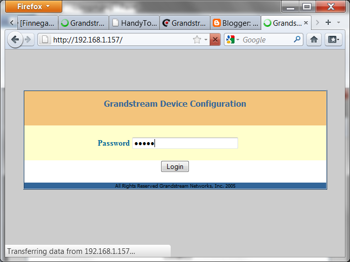 The Life of Kenneth: How to Configure a Grandstream