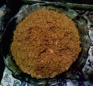 resep serundeng kelapa parut
