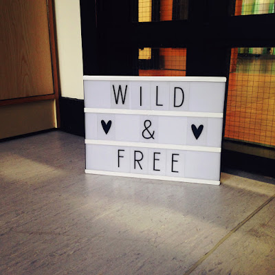 Light box. Wild and free.