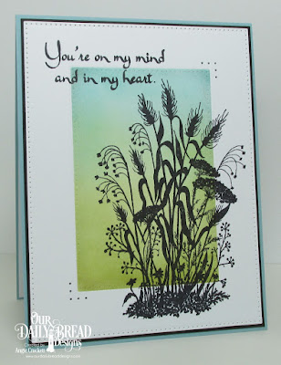ODBD Miss You, ODBD Custom Pierced Rectangles Dies, Card Designer Angie Crockett