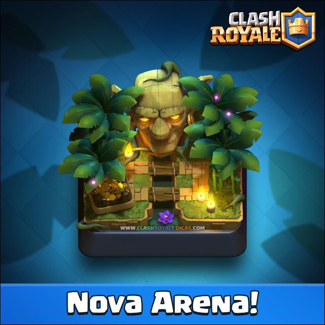 Sneak Peek Nova Arena da Selva