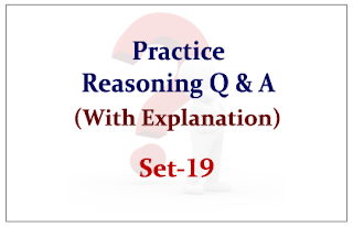 Practice Reasoning Questions (with explanation) for Upcoming Bank PO and Clerk Exams 2015 Set-19
