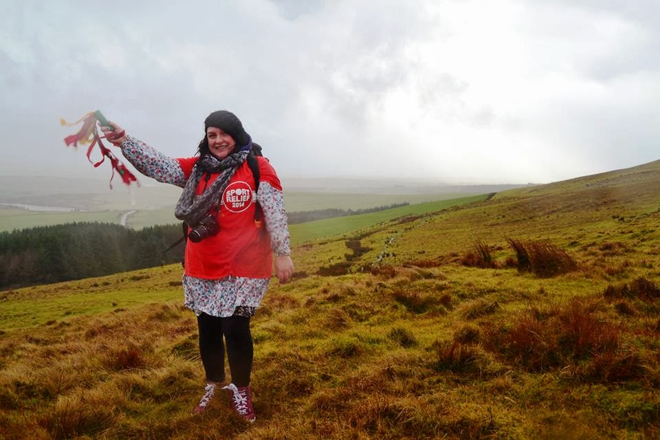 , Team Honk Relay – Climbing the Preseli Mountains, Pembrokeshire, Wales