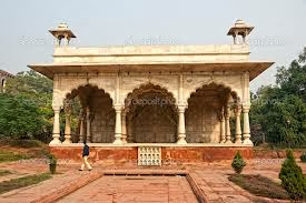 Maharaj darwar of Red fort delhi