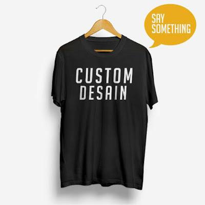 Kaos Custom Sedang Trend Di Kalangan Remaja