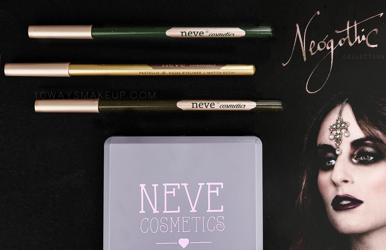 Neve Neogothic Pastello swatch review