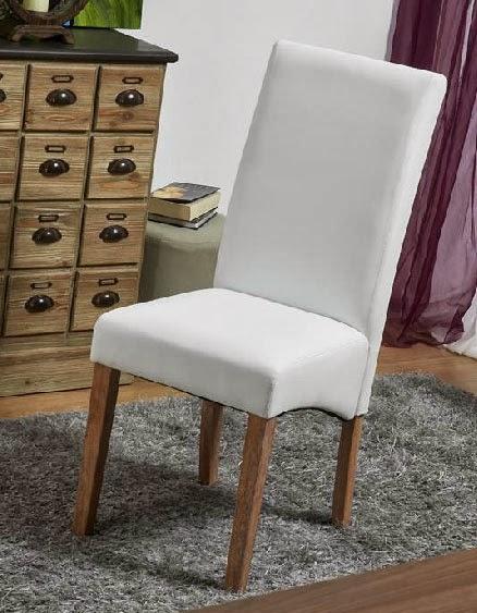silla comedor, silla poli piel, silla mesa salon