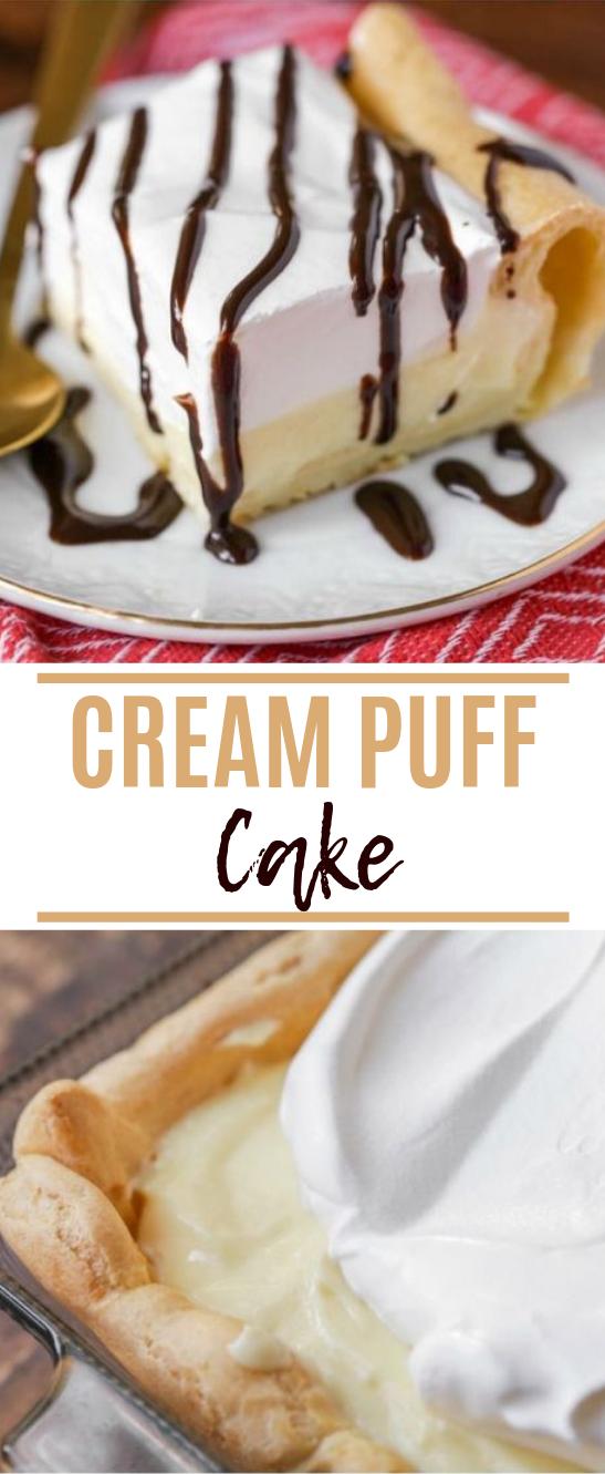 Cream Puff Cake #dessert #cake