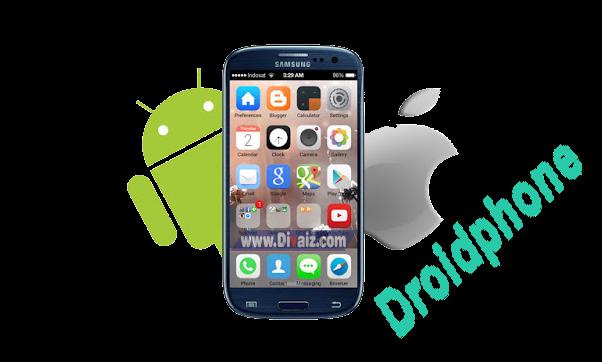 Cara Merubah Tampilan Android Menjadi iPhone iOS Terbaru