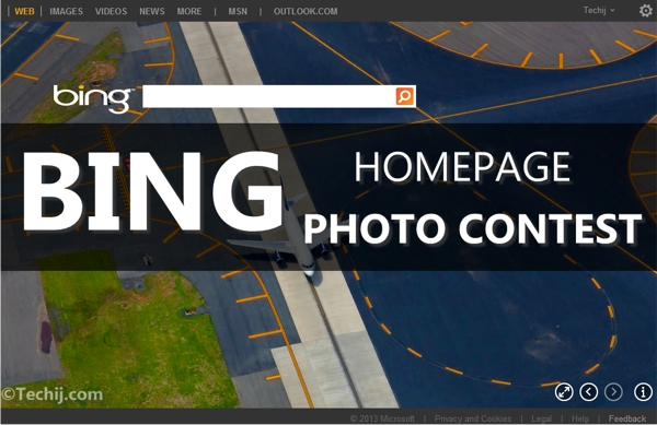 Bing Homepage Photo Contest