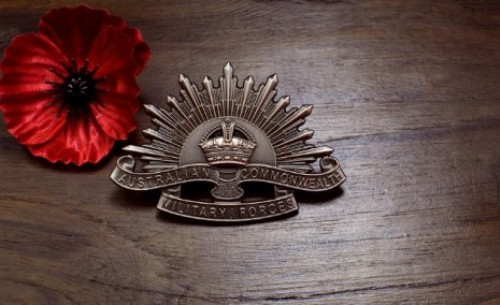 Anzac Day Symbols Traditions Rosemary Red Poppies Slouch Hats Emblems 2016