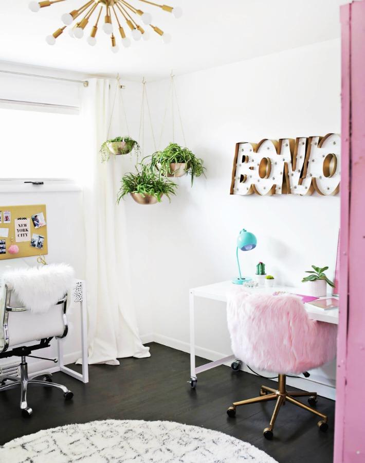 Diy e ideas para un espacio de trabajoChic