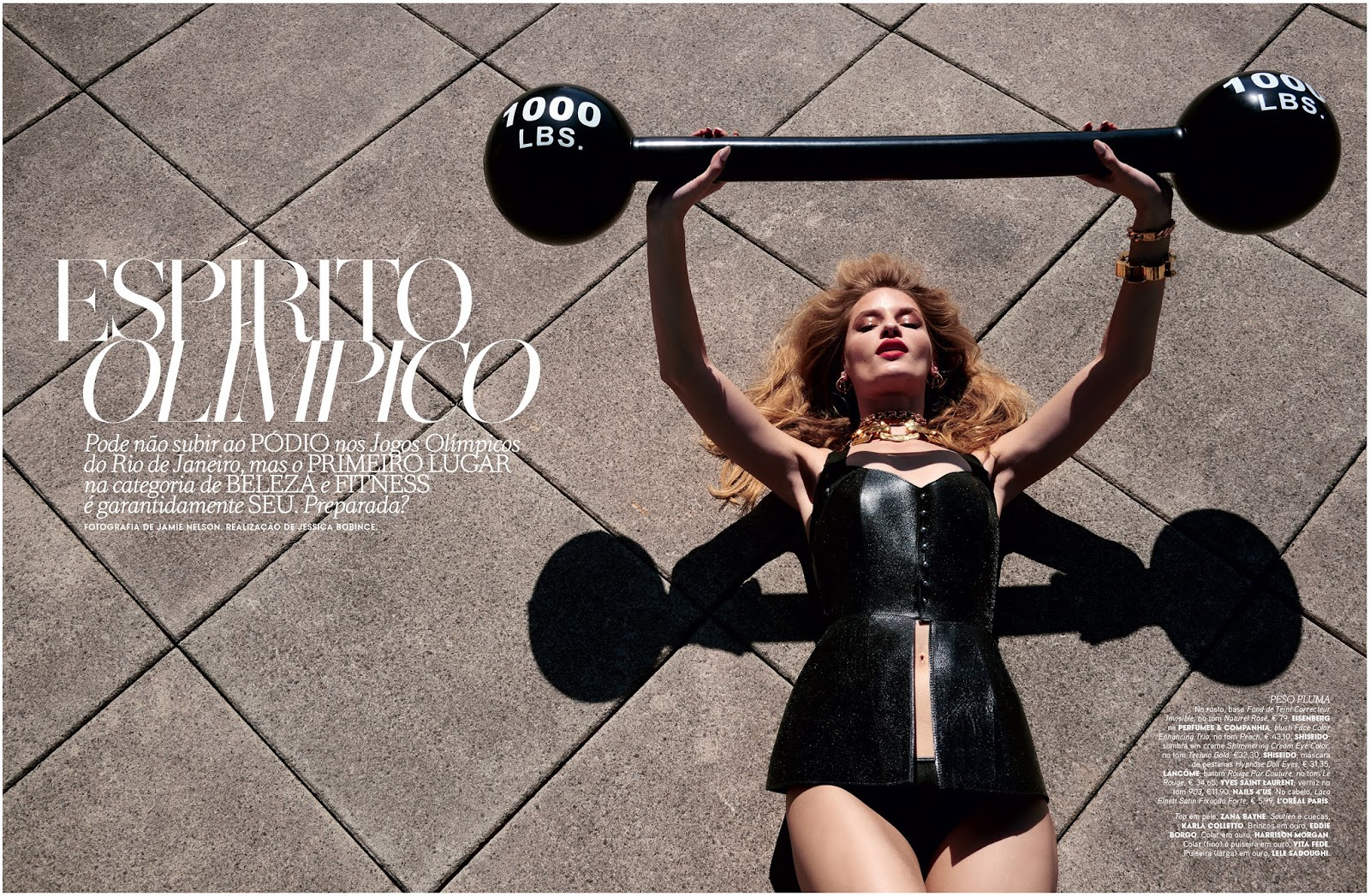 Vogue Portugal Beauty Fashion Editorial Olympics 2016 By
