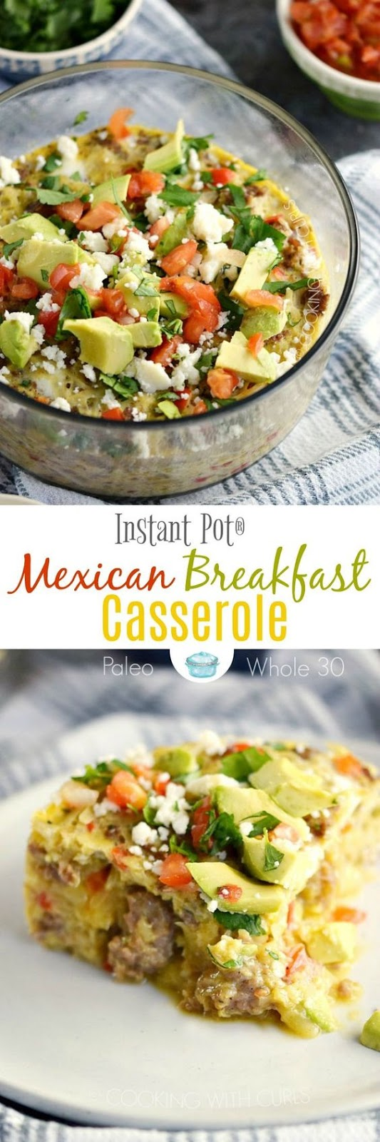 Instant Pot Mexican Breakfast Casserole