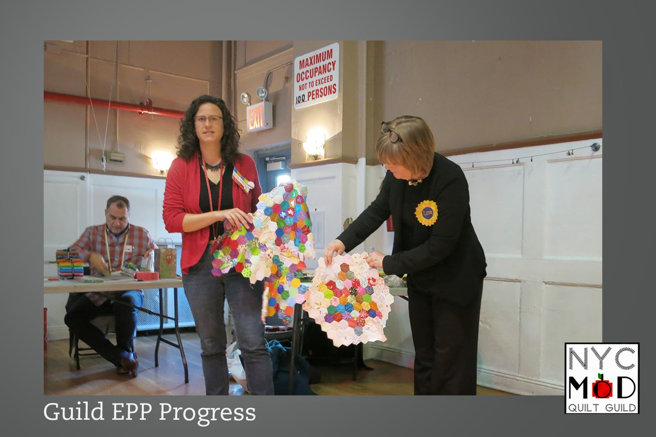Nyc Metro Modern Quilters Guild April 4 2015 Meeting
