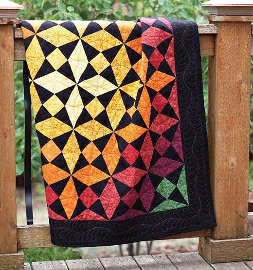 Autumn Glow Quilt Free Pattern