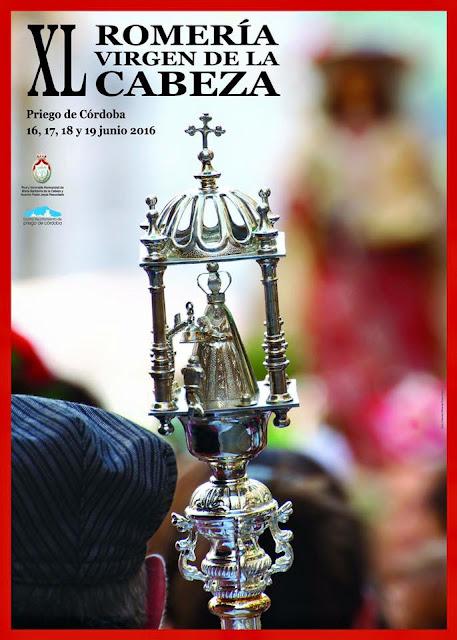 Cartel Romería Virgen de la Cabeza Priego de Córdoba