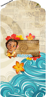 Moana Baby Free Printable Tags.