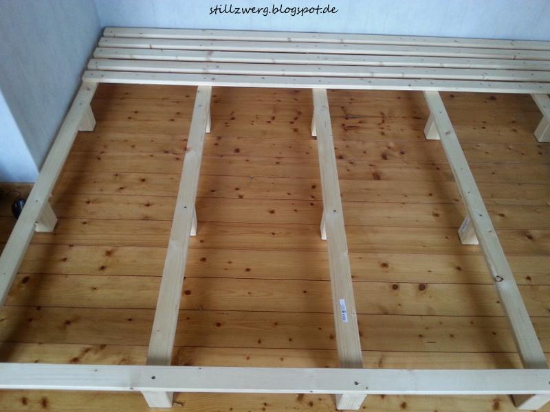 Der stillzwerg ein familienbett f r f nf diy mit bauanleitung - Familienbett selber bauen ...
