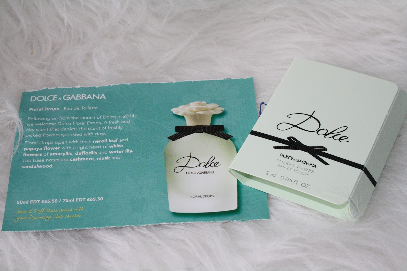 Fragrance Shop Discovery Club Spring 2015