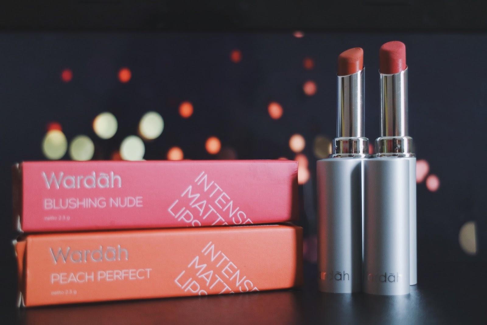 Review Wardah Intense Matte Lipstick Ilunga Lipstik Alhasil Sekarang Aku Punya Beberapa Warna Nude Dan Salah Satunya Ini Dari Packagingnya Suka Banget