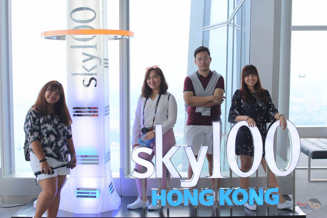 Sky100's Observation Deck - A Breathtaking Hong Kong