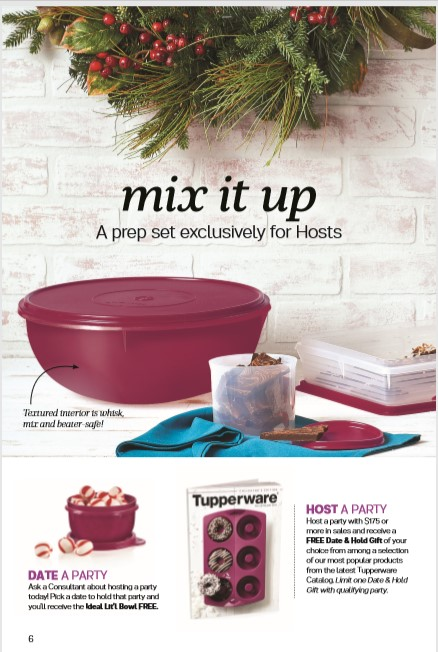 Target Monthly Box: Tupperware Flyer Catalogue October 13