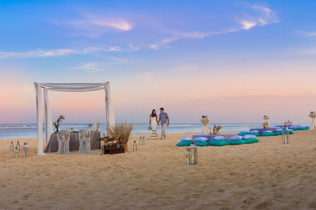 The Ritz Carlton Bali Raih Penghargaan Pernikahan Outdoor Terbaik