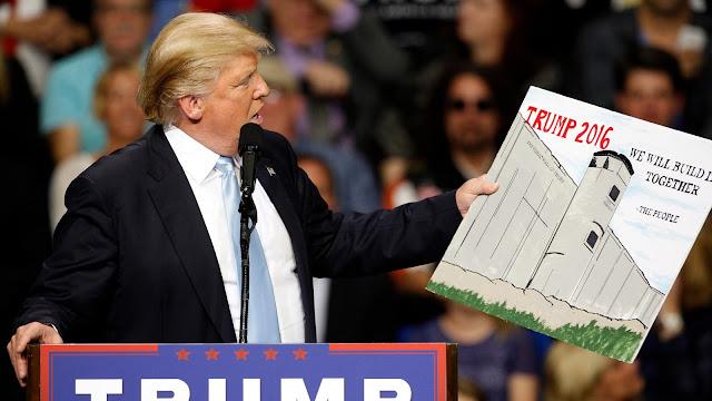 muro de Trump con México