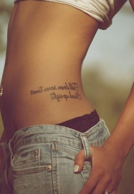 tatuajes para mujeres de frases
