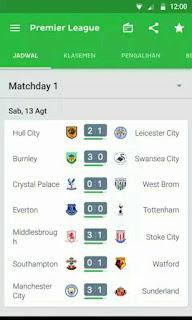 Aplikasi One football