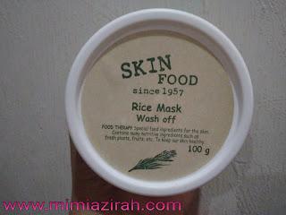 Rice Mask Wash Off