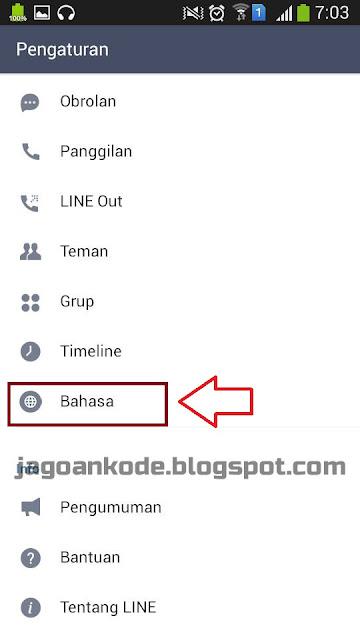 Cara Mengganti Bahasa Di Aplikasi LINE Messenger