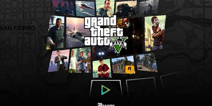 Download Game GTA V/5 FOR ANDROID APK+DATA
