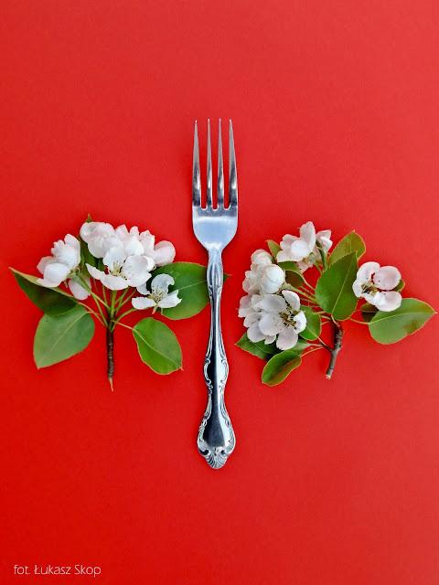 jadalne kwiaty gruszki