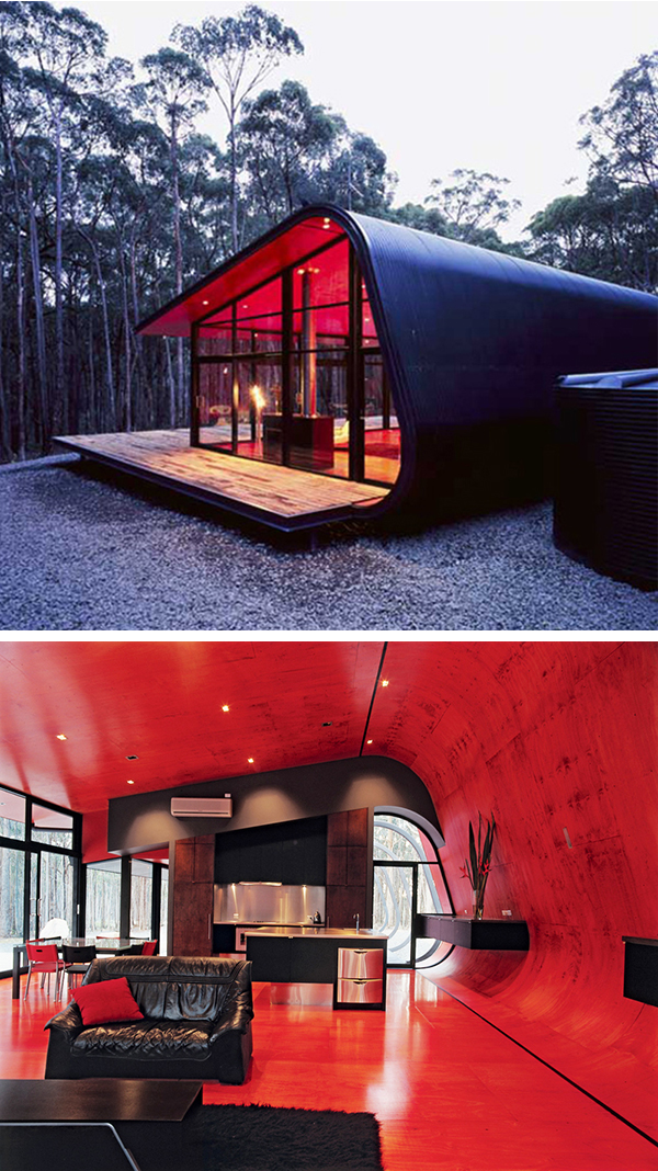 9 Cool Architectural Designs | Teroes Zebar Red Bedrooms Decorating on