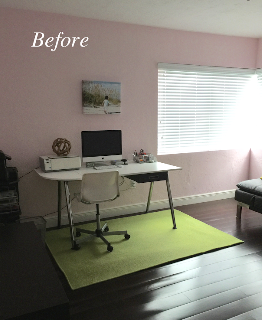 Home Office Makeover Before And After