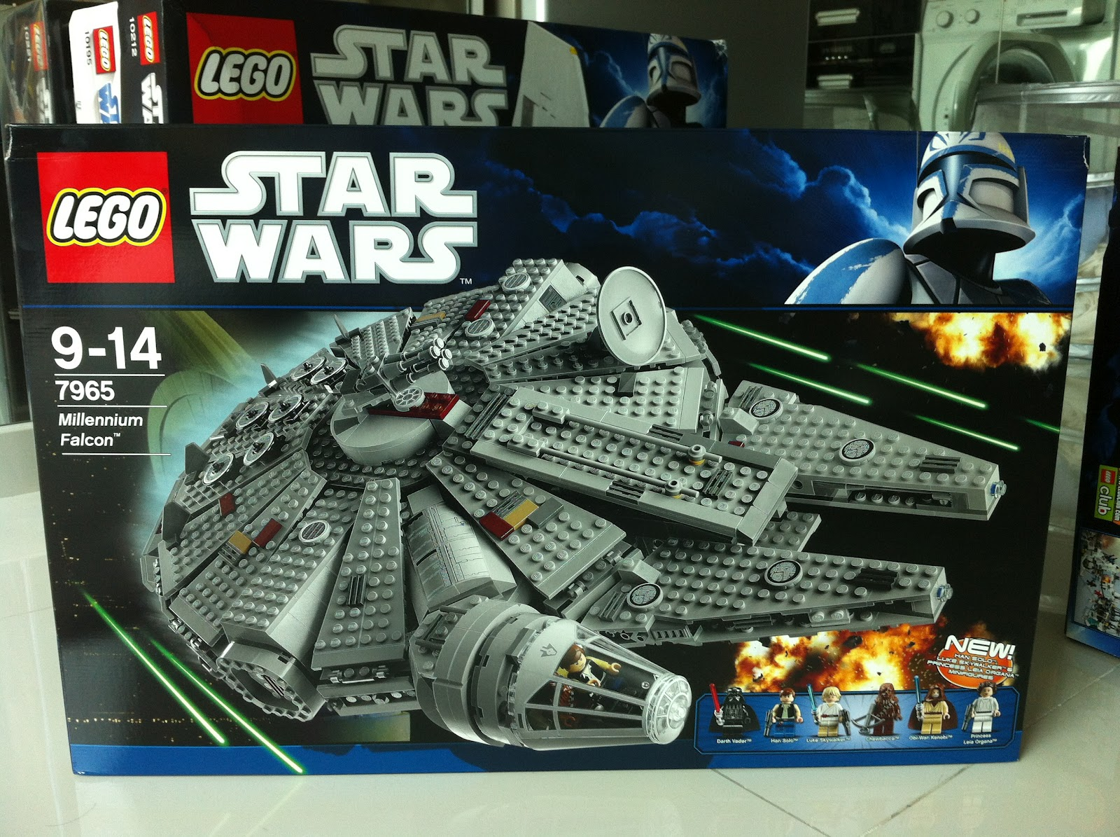 The Marriage of LEGO and Star Wars: Review: 7965 ...