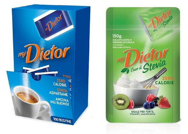 MyDietor, Il Gusto Leggero Oggi Con Stevia