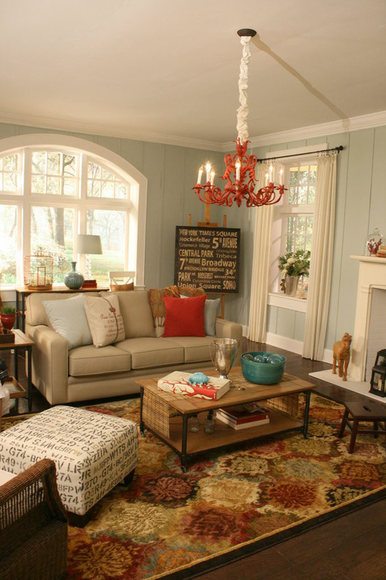 Painted Paneled Room: Mod Vintage Life: Painted Paneling