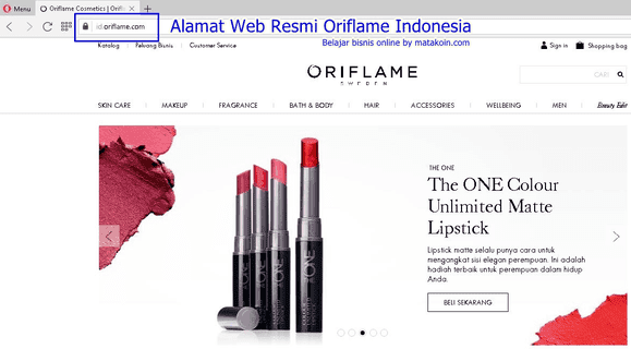 login-oriflame-indonesia.co.id