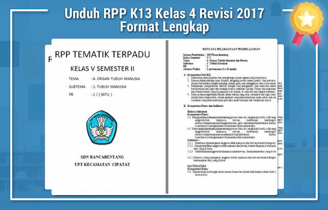 RPP K13 Revisi 2017 Kelas 5 Semester 1