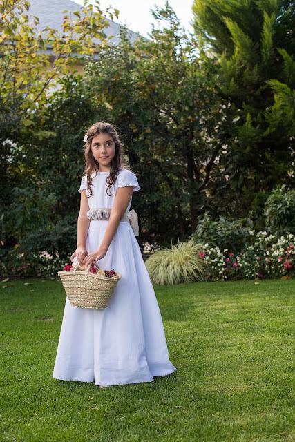 primera comunión 2017 vestidos lino niña trajes niño coronitas invitadas