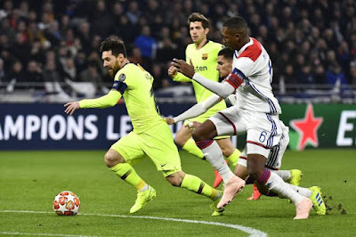 FC Barcelona vs Olympique Lyon UEFA Champions League
