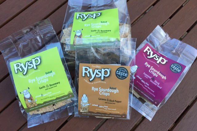Rysp Snack Crackers